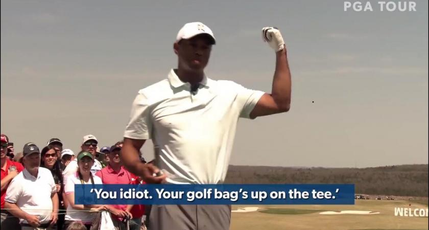 Tiger Woods muistelee vuoden 1984 holaria videolla