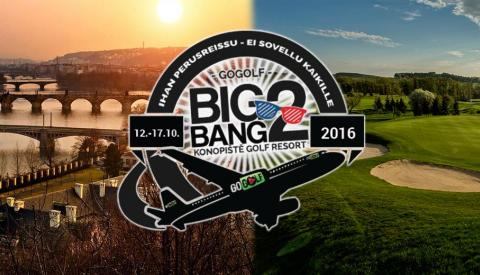 GoGolf Big Bang 2nd Edition Konopiste Praha